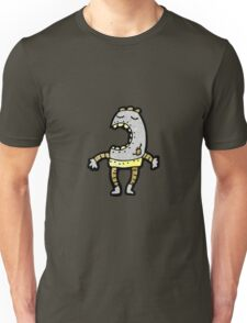 cartoon little dancing robot Unisex T-Shirt