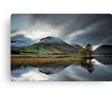 Clouds Hugging Hartsop Dodd Canvas Print