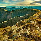 Looking east from Mount Howitt by Kevin McGennan