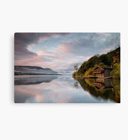 Ullswater sunrise at the Duke Canvas Print