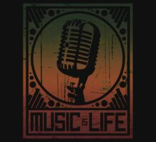 Music is Life: Mic by cluper