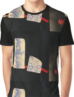 blueware bib with coral Graphic T-Shirt