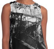 Black & White Staircase Contrast Tank