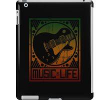 Music is Life: Guitar iPad Case/Skin