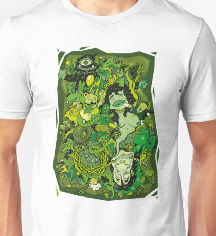 Absolut Absinth Cannabis Shirts For Men Unisex T-Shirt