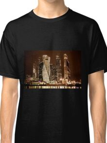 Skyscrapers of Moscow city Classic T-Shirt