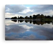 Tweed River Reflections Canvas Print