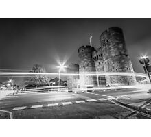 Westgate Towers (black and white) Photographic Print