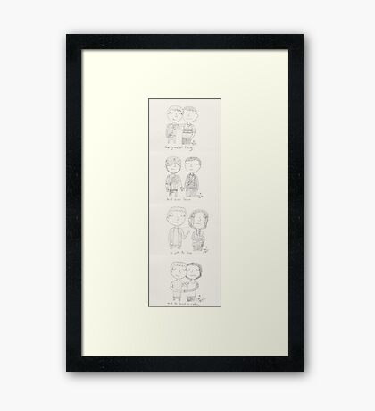 Stucky - the greatest thing Framed Print