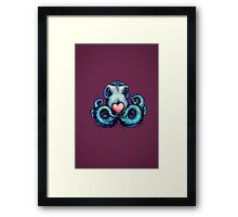 Octopus needs love 3 Framed Print