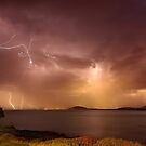 Stormy skies over Gerroa by Kevin McGennan