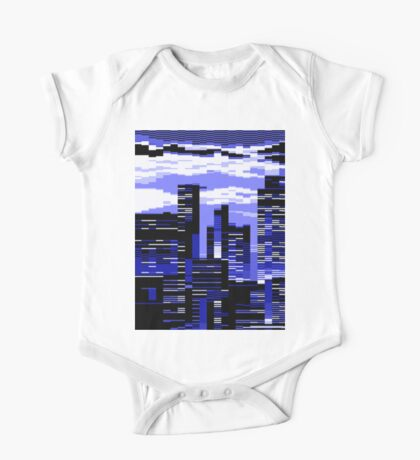 pxl cityscape One Piece - Short Sleeve
