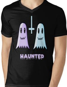 Haunted Mens V-Neck T-Shirt