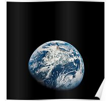View of Earth taken from the Apollo 8 spacecraft. Poster
