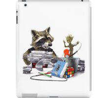 I Want You Back - Rocket and Groot iPad Case/Skin