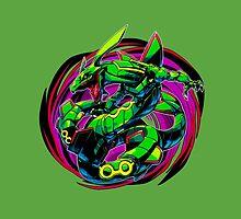 Rayquaza Pokemon by KumaGenis