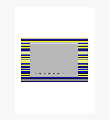 ZX Spectrum Loading Error Photographic Print