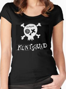 KÜNTSQUÄD MERCHANDISE Women's Fitted Scoop T-Shirt