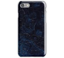 USGS TOPO Map California CA Honey Lake 299786 1893 250000 geo Inverted iPhone Case/Skin