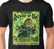 Reservoir Frogs Planet Earth Day Protectors Unisex T-Shirt