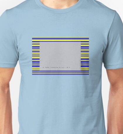 ZX Spectrum Loading Error Unisex T-Shirt