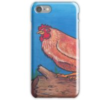 Brown Chickens  iPhone Case/Skin