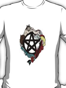 Faerie Elemental Pentacle T-Shirt