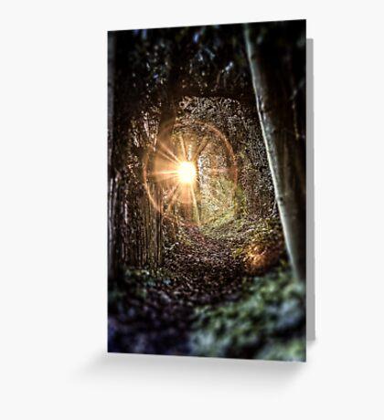 Magical Footpath Greeting Card