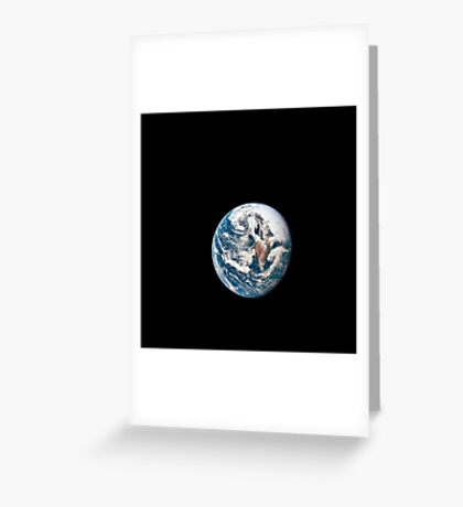 A view of Earth taken from the Apollo 10 spacecraft. Greeting Card