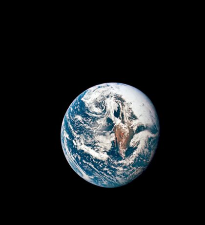 A view of Earth taken from the Apollo 10 spacecraft. Sticker
