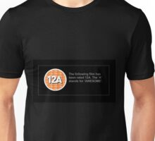 BBFC Rating 12A for Awesome Unisex T-Shirt