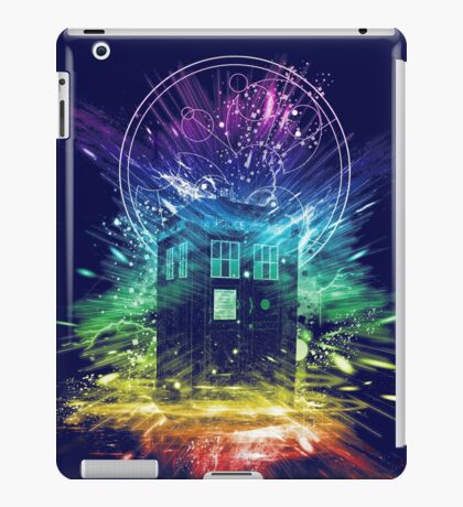 time storm-rainbow version iPad Case/Skin