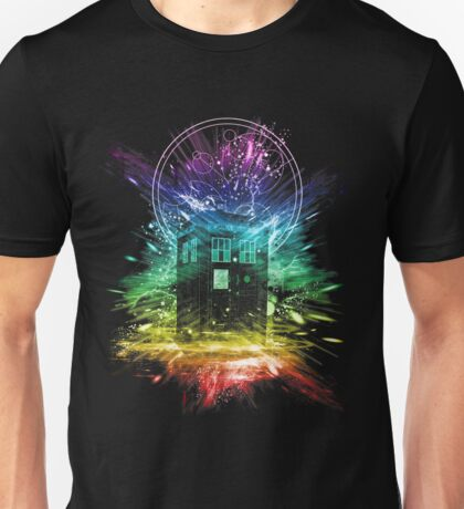 time storm-rainbow version Unisex T-Shirt