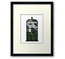 Dandelion TARDIS Framed Print
