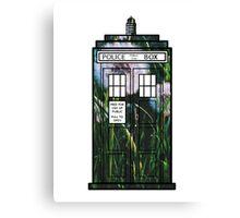 Dandelion TARDIS Canvas Print