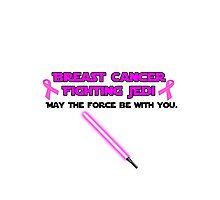 Cancer Fighting Jedi: Version 1 Photographic Print