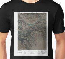 USGS TOPO Map Colorado CO Graveyard Gulch 20110112 TM Unisex T-Shirt