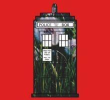 Dandelion TARDIS One Piece - Short Sleeve