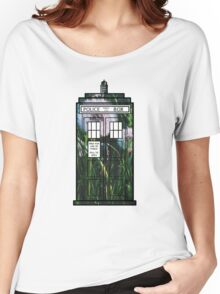 Dandelion TARDIS Women's Relaxed Fit T-Shirt