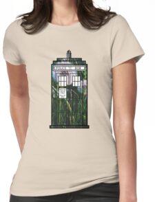 Dandelion TARDIS Womens Fitted T-Shirt