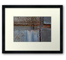 4 Corners Framed Print