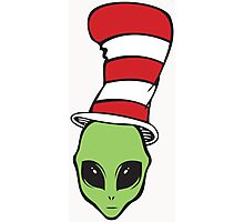 Alien in the Hat Photographic Print