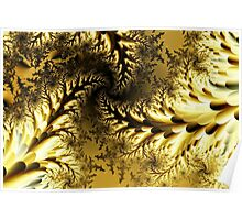 Golden branches Poster