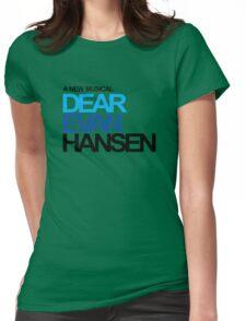 dear evan hansen Womens Fitted T-Shirt