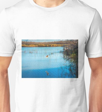 Just hanging over the water  Unisex T-Shirt