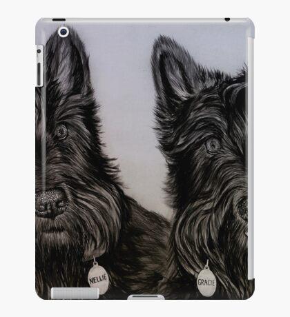 """Nellie and Gracie"" - Dog portraits iPad Case/Skin"