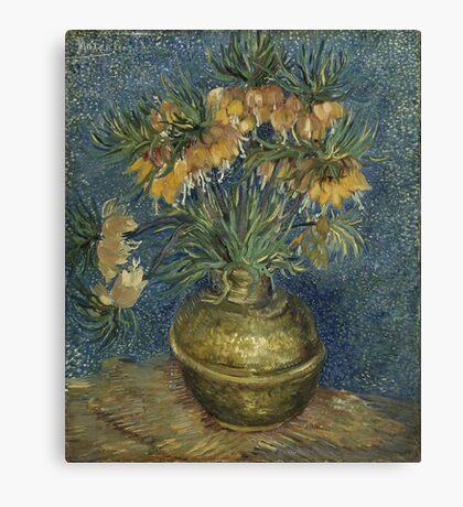 Vincent Van Gogh - Imperial Fritillaries In A Copper Vase 1887 Canvas Print