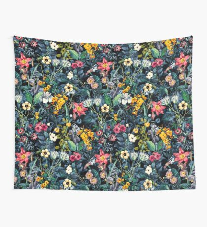 Exotic Garden Wall Tapestry