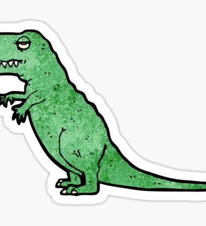cartoon tyrannosaurus rex Sticker