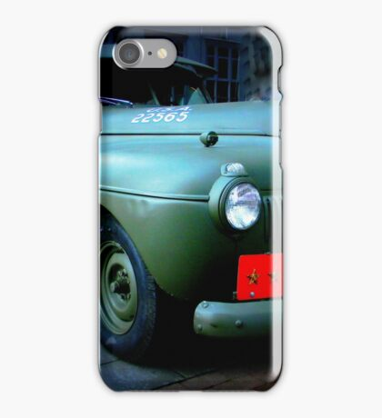 Vintage Military Vehicle iPhone Case/Skin